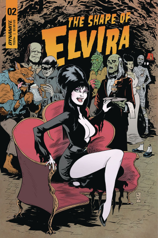 The Shape of Elvira #2 (Acosta Cover)