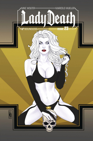 Lady Death #23 (Art Deco Variant Cover)