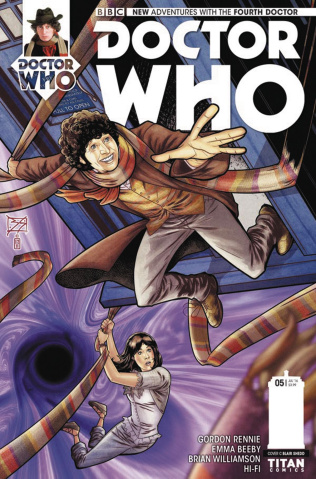 Doctor Who: New Adventures with the Fourth Doctor #5 (Shedd Cover)