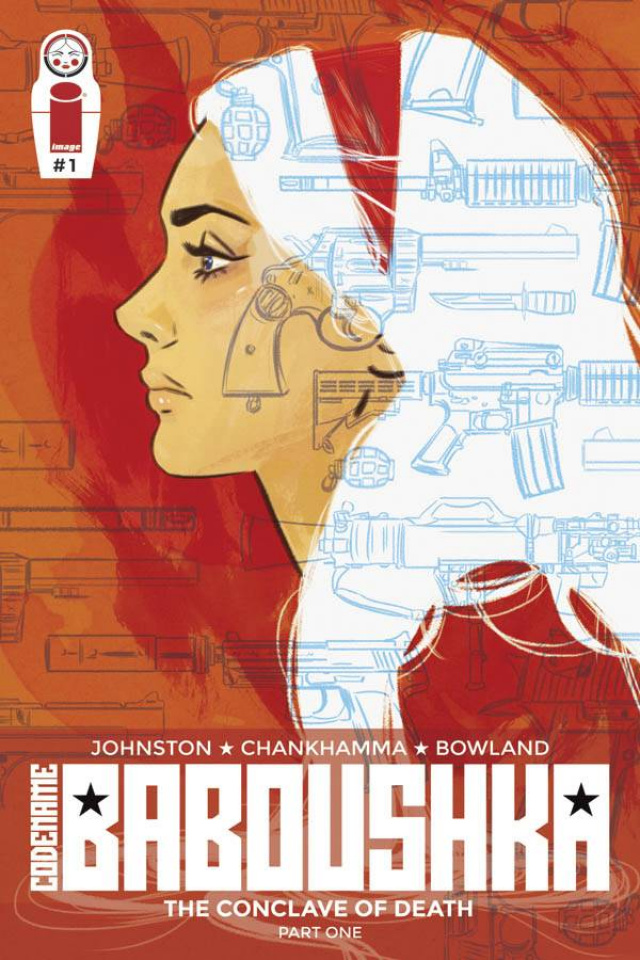 Codename Baboushka: The Conclave of Death #1 (Lotay Cover)