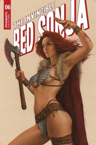 The Invincible Red Sonja #6 (Celina Cover)