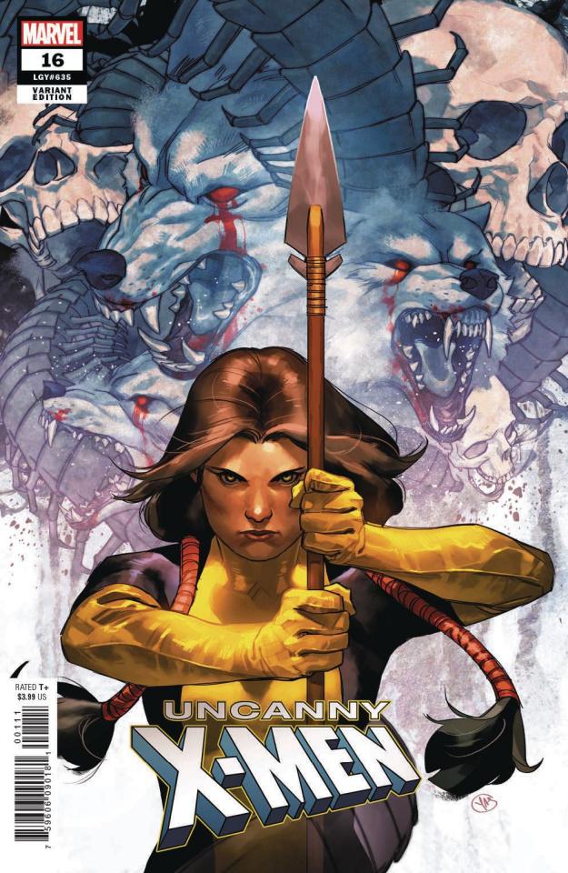 Uncanny X-Men #16 (Putri Character Cover)