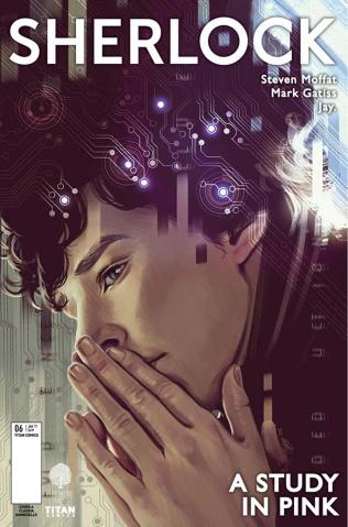 Sherlock: A Study in Pink #6 (Ianniciello Cover)