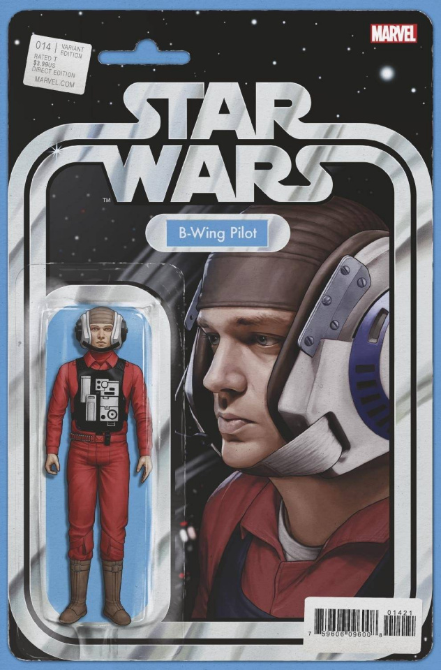 Star Wars #14 (Christopher Action Figure Cover)