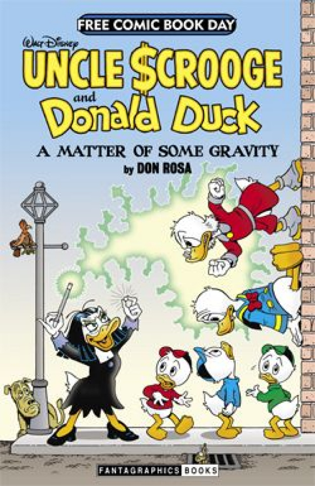 Uncle Scrooge and Donald Duck: A Matter of Some Gravity (Free Comic Book Day 2014)