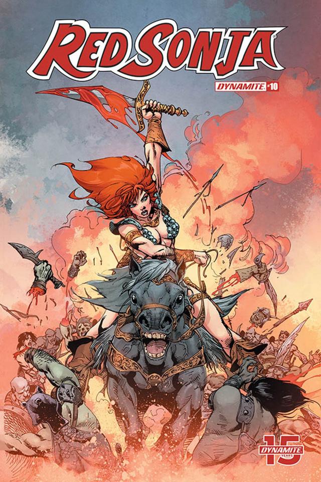 Red Sonja #10 (7 Copy Castro Cover)