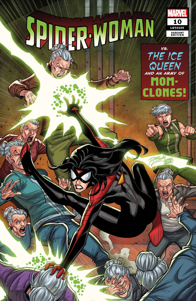 Spider-Woman #10 (Ron Lim Cover)