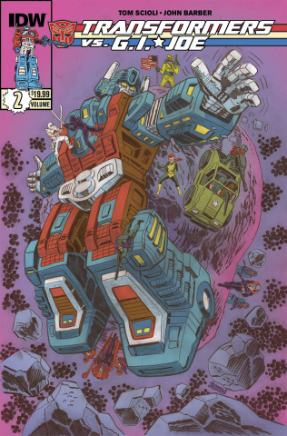 Transformers vs. G.I. Joe Vol. 2