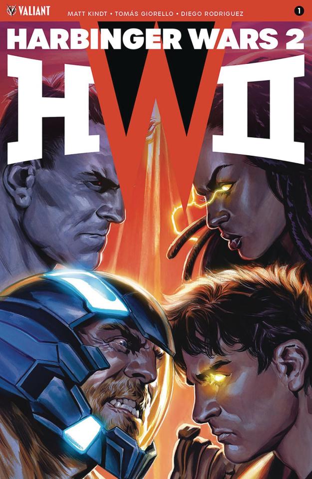 Harbinger Wars 2 #1 (50 Icon Massafera Cover)