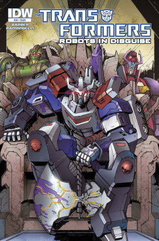 The Transformers: Robots in Disguise #34: Dawn of the Autobots