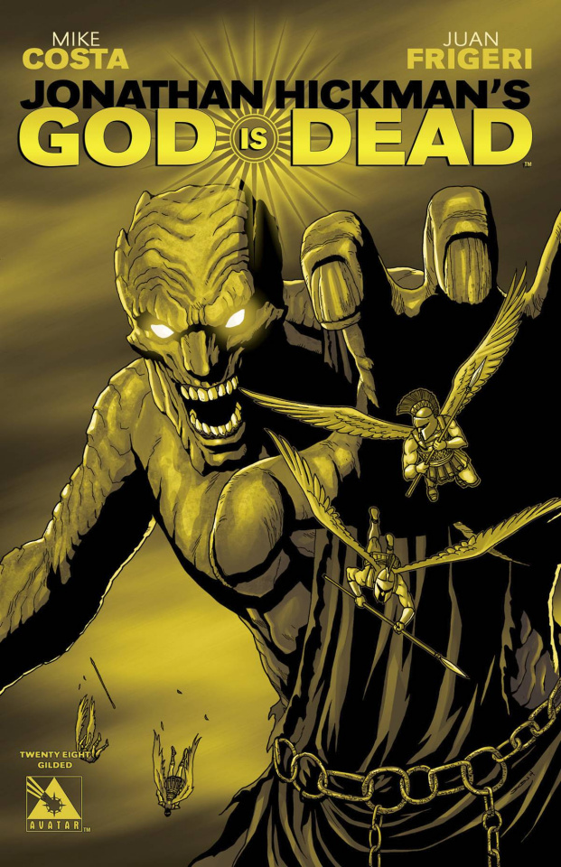 God Is Dead #28 (Gilded Retailer Cover)