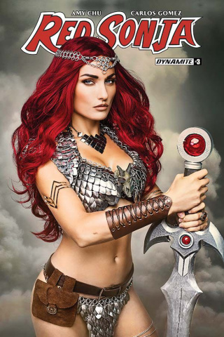 Red Sonja #3 (Cosplay Cover)