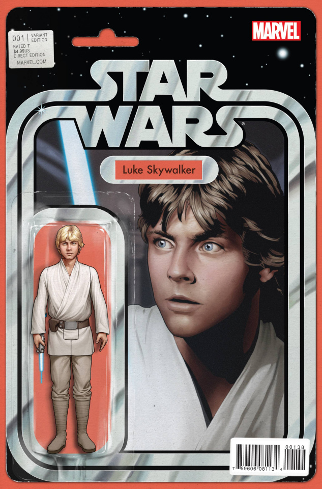 Star Wars #1 (Action Figure Cover)