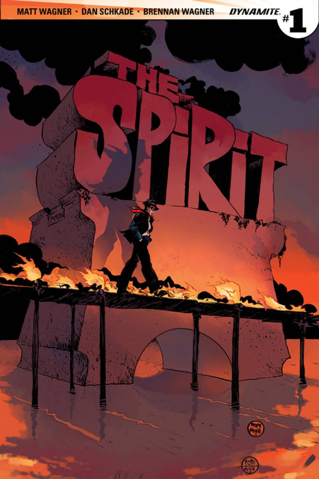 The Spirit #1 (Pope 2nd Printing)