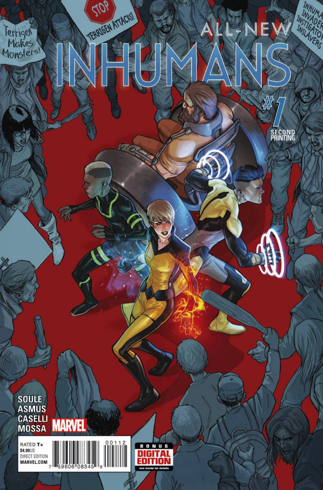 All-New Inhumans #1 (Caselli 2nd Printing)