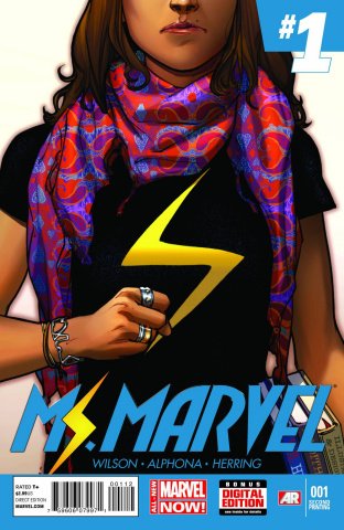 Ms. Marvel #1 (2nd Printing)
