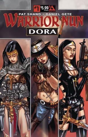 Warrior Nun Dora #1 (Timeless Cover)