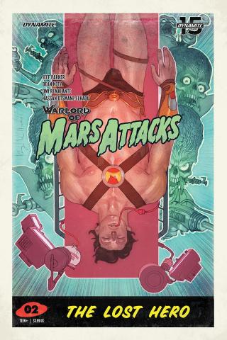 Warlord of Mars Attacks #2 (Caldwell Cover)