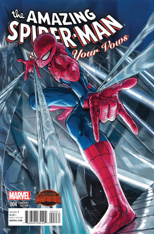 The Amazing Spider-Man: Renew Your Vows #4 (Manga Cover)