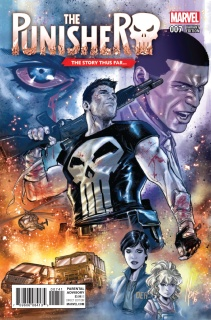 The Punisher #7 (Checchetto Story Thus Far Cover)