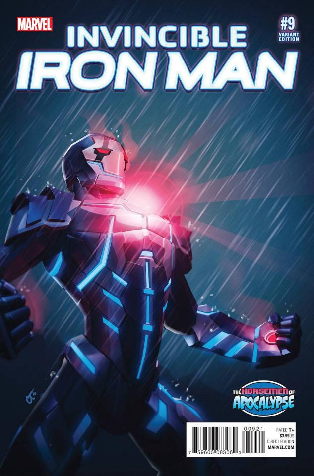Invincible Iron Man #9 (Turcotte AoA Cover)