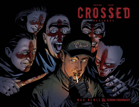 Crossed: Badlands #92 (Wrap Cover)