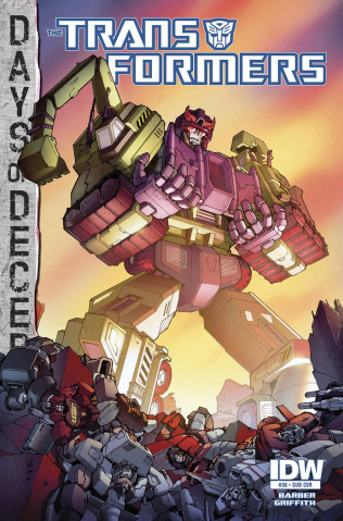 The Transformers #38 (Subscription Cover)