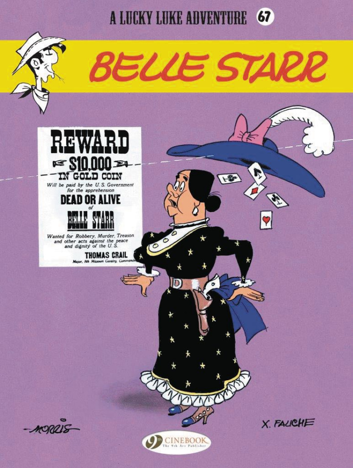 Lucky Luke Vol. 67: Belle Starr