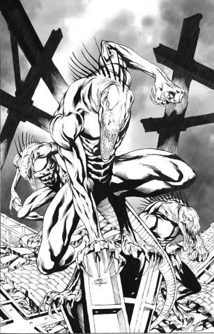 Monster Planet #2 (Vitorino Cover)
