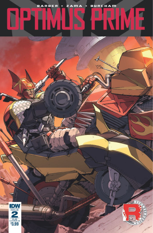 Optimus Prime #2 (Subscription Cover B)