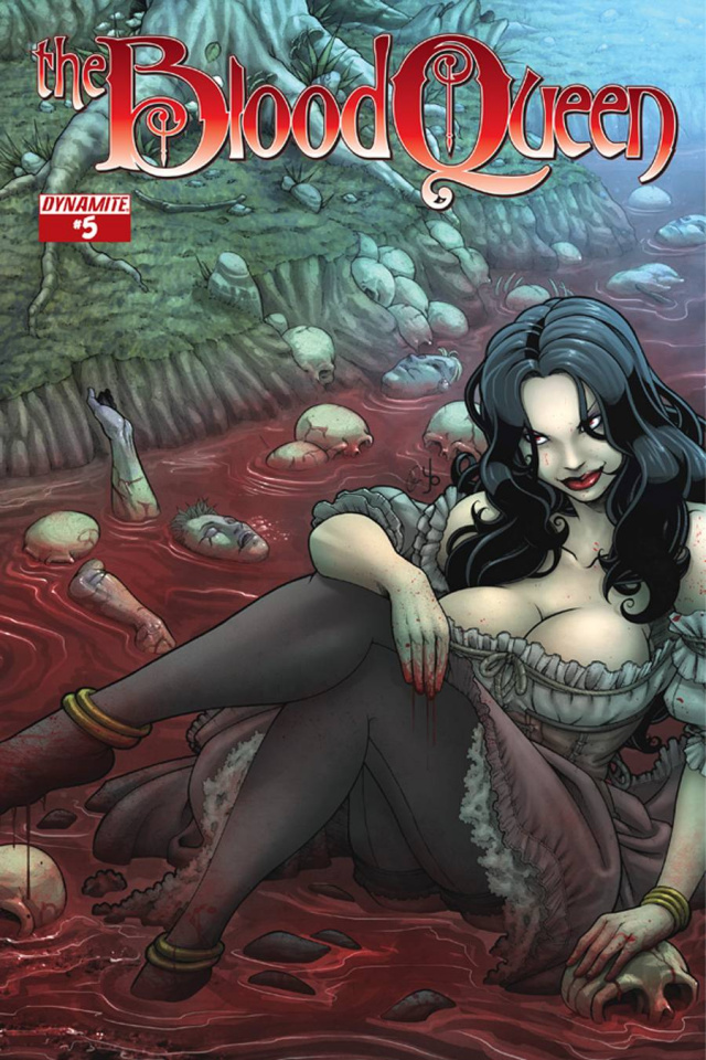 The Blood Queen #5 (Yonami Cover)