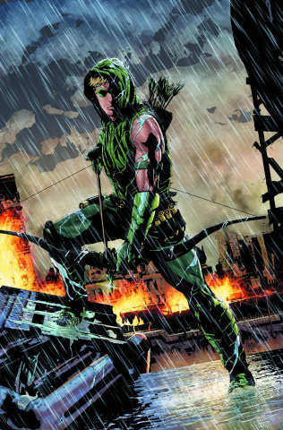 Green Arrow by Jeff Lemire