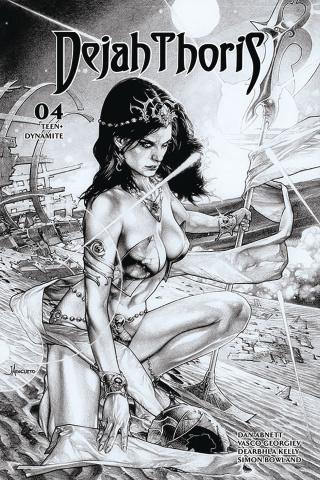 Dejah Thoris #4 (20 Copy Anacleto B&W Cover)