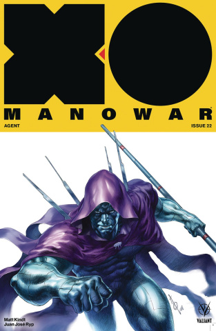 X-O Manowar #22 (Quah Cover)