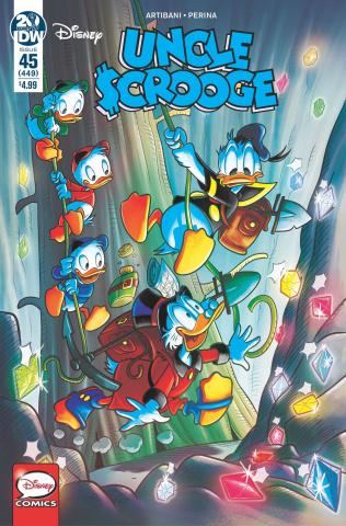 Uncle Scrooge #45 (Gervasio Cover)