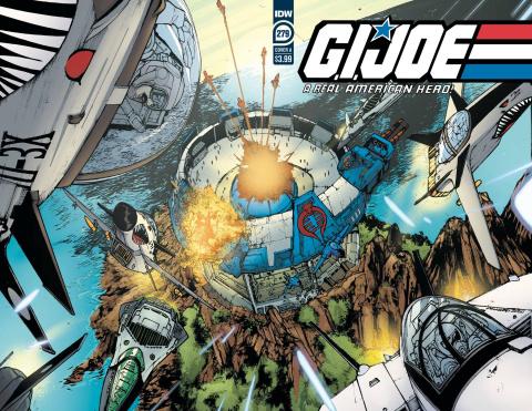 G.I. Joe: A Real American Hero #279 (Sanchez Cover)