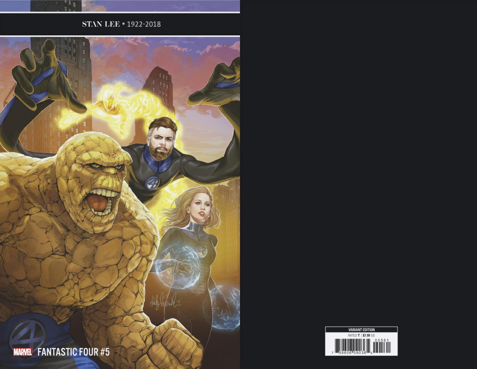 Fantastic Four #5 (Witter Cover)