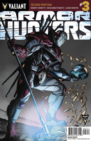 Armor Hunters #3 (2nd Printing)