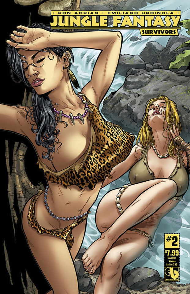 Jungle Fantasy: Survivors #2 (Swelter Vixens Cover)