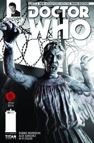 Doctor Who: New Adventures with the Tenth Doctor #6 (Subscription Cover)