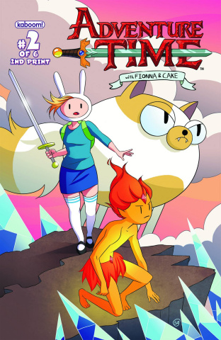 Adventure Time with Fionna & Cake #2 (2nd Printing)