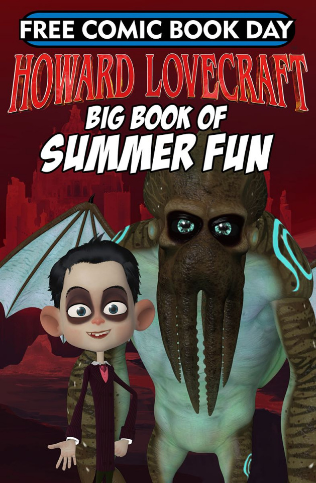 Howard Lovecraft's Big Book of Summer Fun FCBD 2018 Special