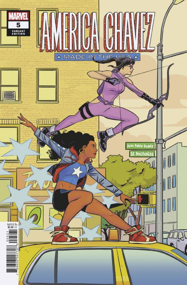 America Chavez: Made in the U.S.A. #5 (Bustos Cover)