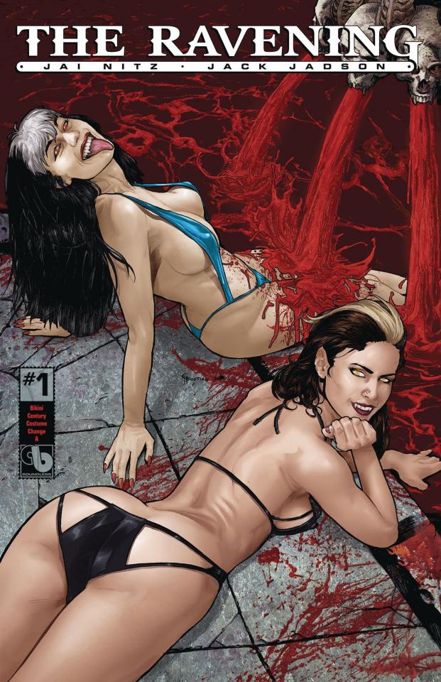 The Ravening #1 (Bikini Century Cover)