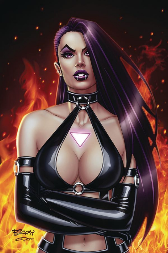 Vampblade, Season Four #1 (McKay Virgin Cover)