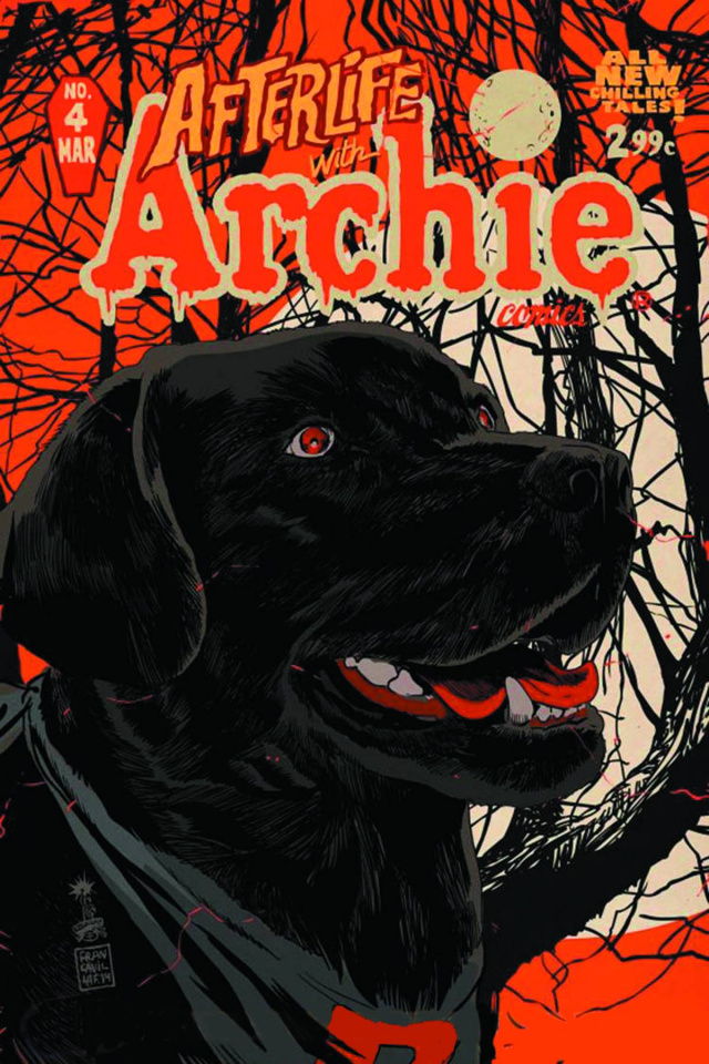 Afterlife With Archie #4 (2nd Printing)