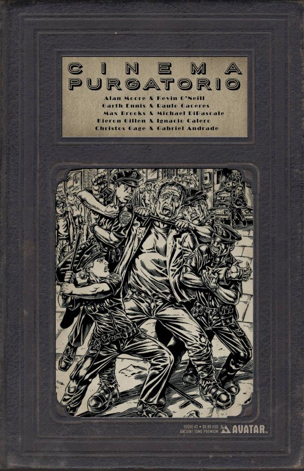 Cinema Purgatorio #2 (Ancient Tome Premium Cover)