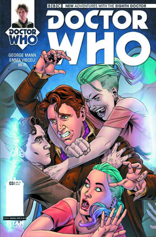 Doctor Who: New Adventures with the Eighth Doctor #3 (Stott Cover)