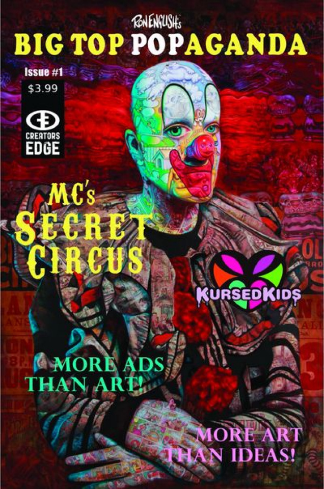 Ron English Presents #1: MC Secret Circus