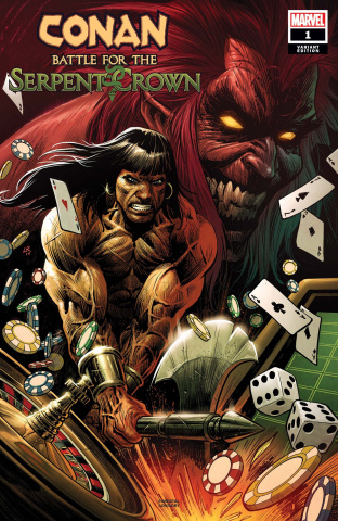 Conan: Battle for the Serpent Crown #1 (Luke Ross Cover)